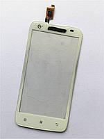 Сенсорный экран для мобильного телефона Lenovo  A378t ,белый