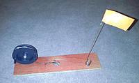 Жерлица рыболовная зимняя на деревянной доске