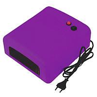 УФ-лампа, 36 Ватт, таймер 2 мин. Пурпурная