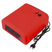 УФ-лампа, 36 Ватт, таймер 2 мин. Красная