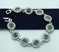 Праздничные украшения -вечерний браслет в кристаллах оптом. Бижутерия низких цен оптом. 989