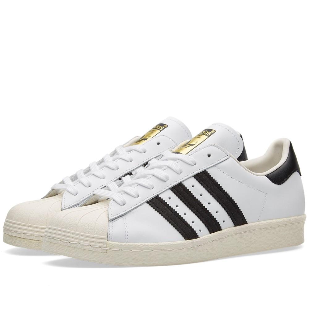 Оригинальные кроссовки Adidas Superstar 80s White 5d5c186f64830