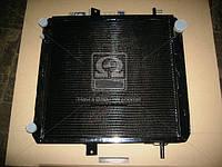 Радиатор Краз 6510, 6437, Краз 6444 , медно-латунный, 4-х рядный (ШААЗ, Россия)