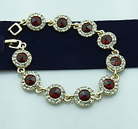 Новогодняя бижутерия -вечерний браслет в кристаллах оптом. Состоятельные украшения оптом. 995