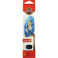 Цветные акварельные карандаши Koh-i-noor MONDELUZ «Рыбки» (3715_р)