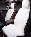 Шикарные высококачественные авточехлы на зиму из натуральной овчины без запаха, фото 2