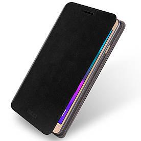 Чехол книжка для Samsung Galaxy A5 2016 SM-A510 боковой, MOFI Черный