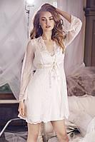Роскошный Комплект из кружева (халат+платье) Anabel Arto 6732-1