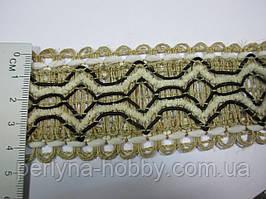 Тасьма декоративна лляна, Тасьма декоративна лляна, ( льон + бавовна ) 5 див. Ціна за1 метр