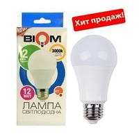 Светодиодная лампа BIOM E27-12W-Груша-Нейтральный