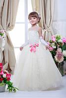 Платье выпускное детское нарядное D706