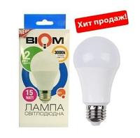 Светодиодная лампа BIOM E27-15W-Груша-Нейтральный