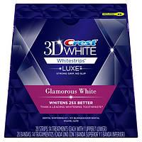 Отбеливающие полоски для зубов Crest 3D Glamorous White 28 шт. (США)
