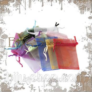 Упаковочные мешочки. Органза. 7х9 см