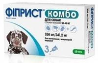 Капли Фиприст КОМБО от блох и клещей для собак 20-40 кг