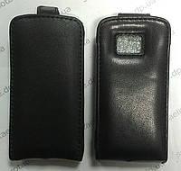 Чехол-книжка для Nokia 5530 (кожаный) чёрный