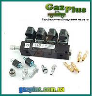 Полный комплект ГБО 8-цыл. Nevo 8 Plus KME Gold до 325л.с. пропан