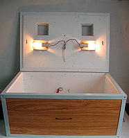 Инкубатор для яиц Курочка Ряба 60 автоматический переворот, цифровой терморегулятор и вентилятор, фото 1