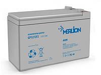 Аккумулятор MERLION AGM GP1272F2 12 V 7,2 Ah (151x65 x100)