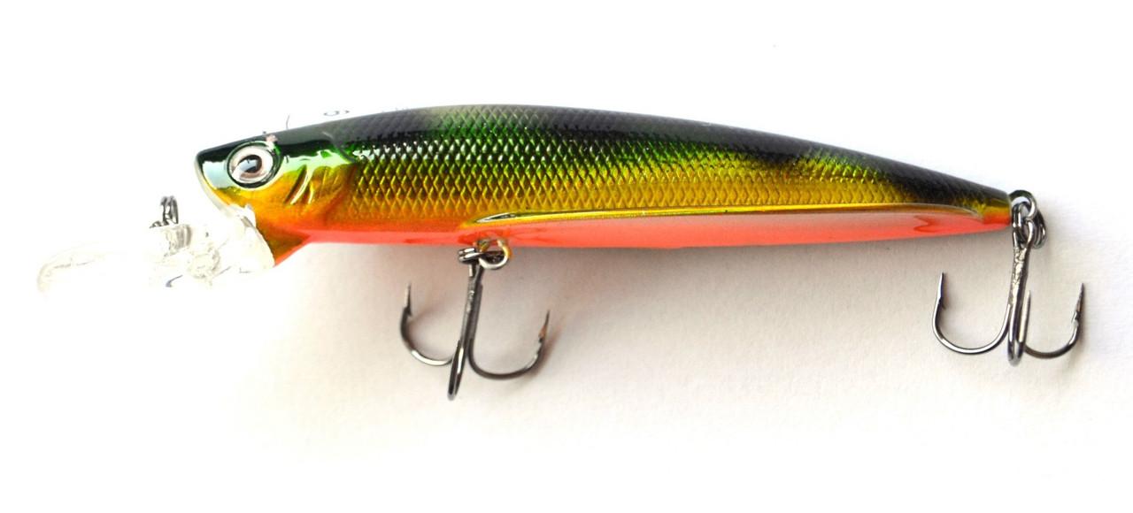 Воблер для рыбалки Кондор Classic Flipper, 90мм, 9г, 0-2м, цвет 251