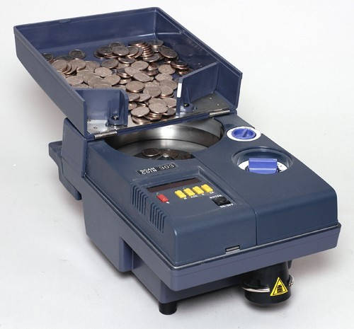 SCAN COIN SC 303 Счетчик монет, фото 2