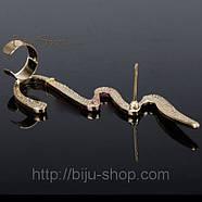Сережки Кафи Хвиля., фото 4