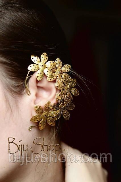 Сережки Кафи Літо. Прикраса ручної роботи