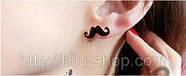 Серьги  Усы Мustache, фото 2