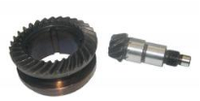 Пара шестерен для бочкового перфоратора (50мм диаметр)