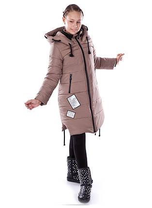 """Зимнее пальто для девочки """"Вивьен"""", фото 2"""