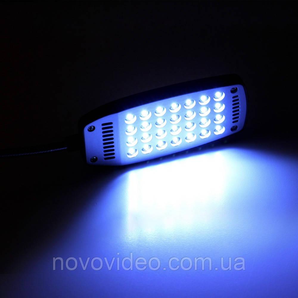 Осветитель мощный рабочего места, клавиатуры с usb питанием