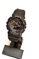 Женские наручные часы Casio G-Shock Baby-G (черные), кварцевые, женские, спортивные, наручные