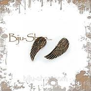 Запонки на воротник Крылья 2, фото 2
