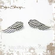 Запонки на воротник Крылья 3, фото 3