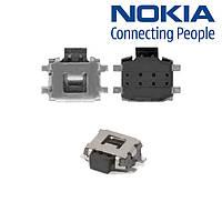 Кнопка включения для Nokia 2720f/3100/3110c, 4-х контактная, оригинал