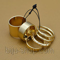 Набор Кольца Asos Midi ring (Pantera), 6шт.