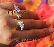 Кольцо на два пальца Крылья, фото 2