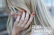 Кольцо на середину пальца Midi ring, фото 5