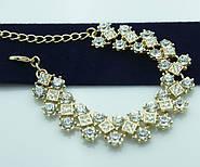 Мега поступление вечерних браслетов с кристаллами и камнями в оправе под золото и серебро.