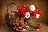 Алмазная вышивка Цветы для тебя 40 х 30 см (арт. FS303)