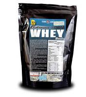 Протеин Platinum Whey Basic  Концентрат сывороточного протеина 500g - банан