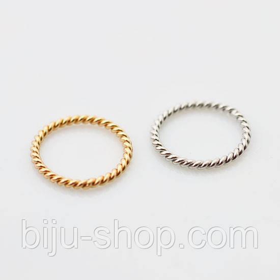 Кільця Asos Midi ring скручена ланцюжок