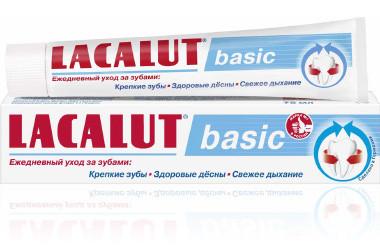 Лакалют Бэйсик зубная паста 75мл