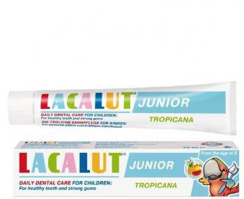 Лакалют Джуниор зубная паста для детей тропическая 75мл