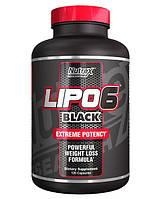 Жиросжигатель Lipo-6 Black Nutrex 120 caps