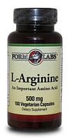 Аминокислота L-Arginine 500 мг 100 cap