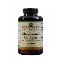 Для суставов и связок глюкозамин, хондроитин и МСМ, Glucosamine Complex Form Labs  120 caps