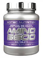 Аминокислоты Amino 5600 500 т Scitec Nutrition