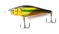Рыболовный воблер Кондор Fat Minnow, 85мм, 15г, 0-2.5м, цвет 180