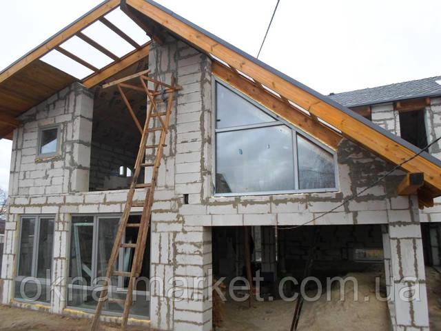 Пластиковые окна для коттеджа с установкой, фирма